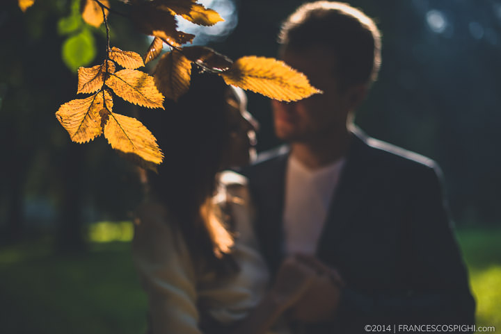 Fall Engagement Photography in Florence