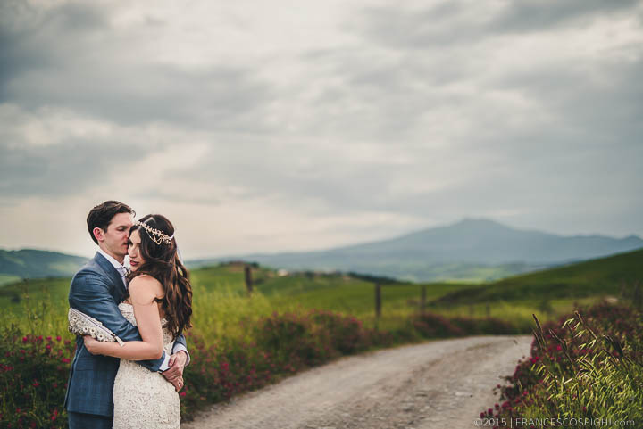 Bohemian Wedding Photography Italian countryside