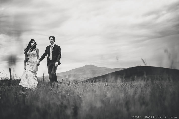 Bohemian Wedding Photography Tuscany countriside