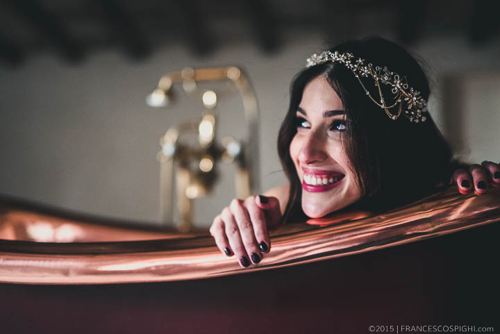 Bohemian Wedding Photography Creative Portrait