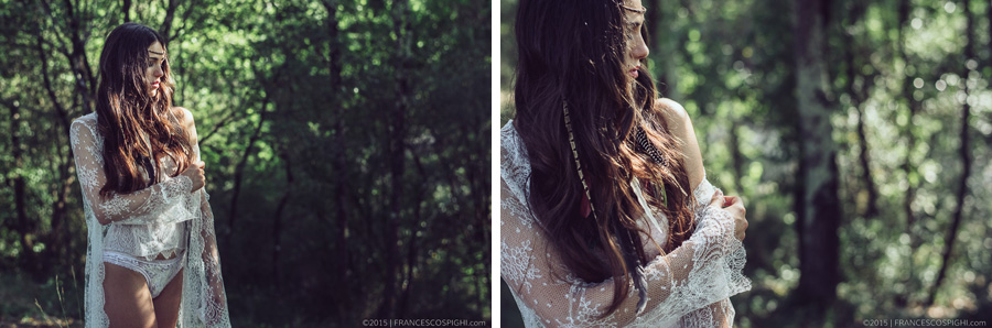 bohoemian boudoir styled photo shooting wood outdoors 1010 2