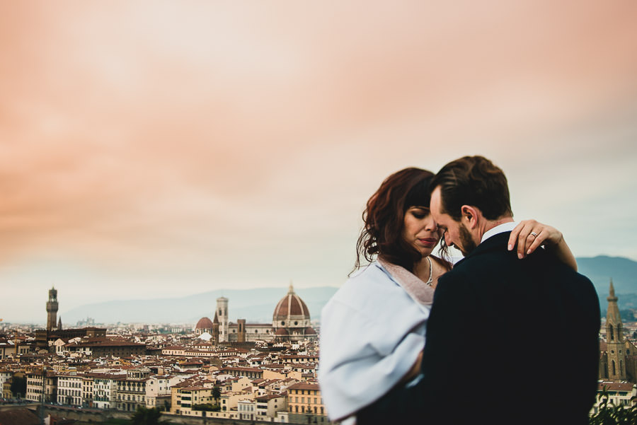 Multicultural Wedding in Florence, Italy