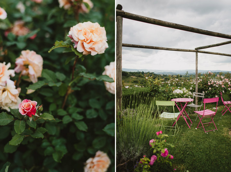 Romantic Italian elopement in Tuscany Photo / Flowers