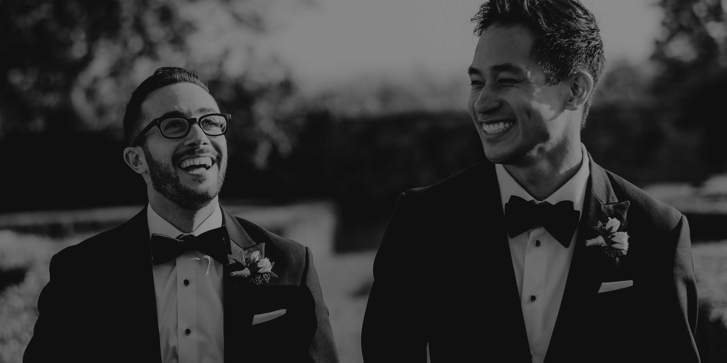 same sex lgbt wedding florence tuscany italy two grooms