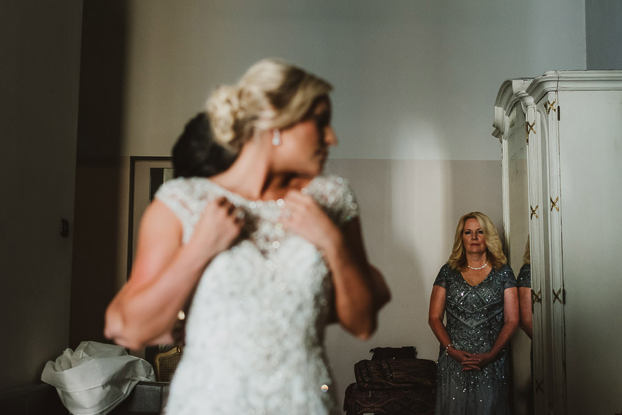 Bride Getting Ready Borghese Palace Art Hotel Florence