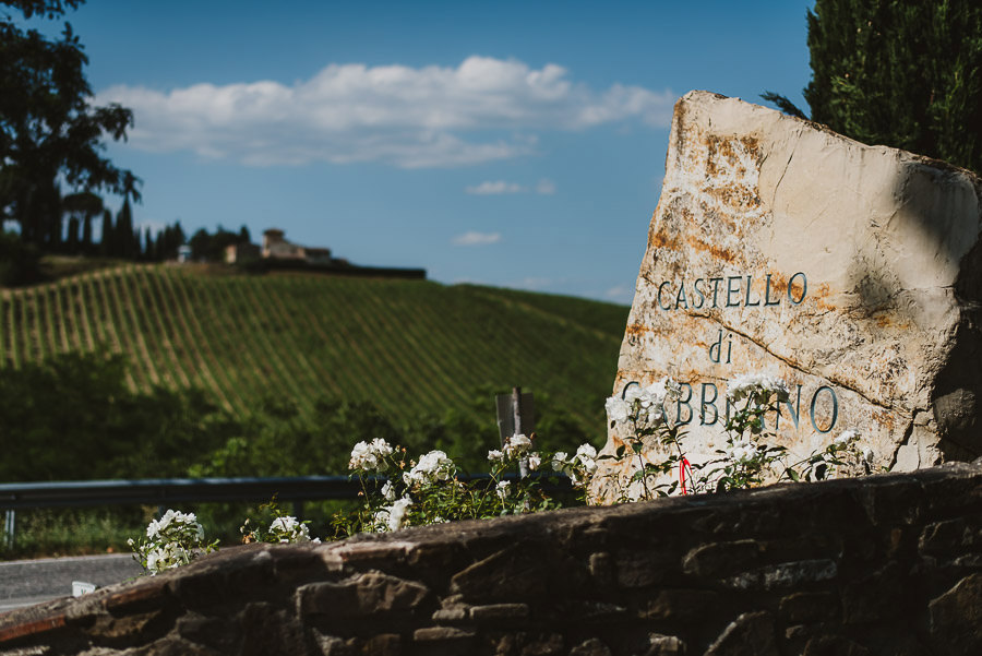 Wedding at Castello di Gabbiano, Tuscany