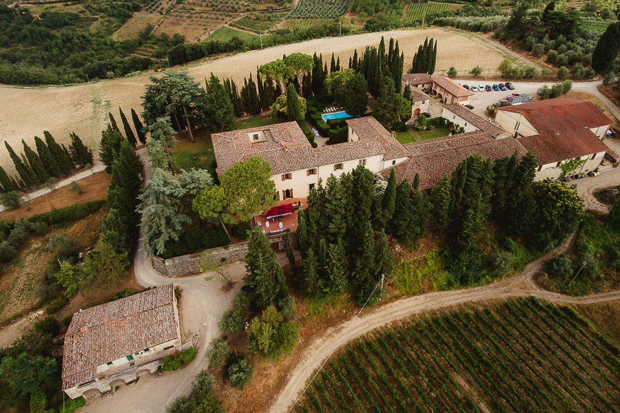 destination wedding in italy overall view photography