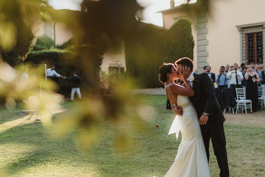 destination wedding in italy bridal couple portrait