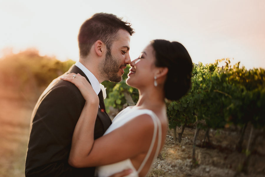 destination wedding in italy outdoor tuscany bridal couple portr