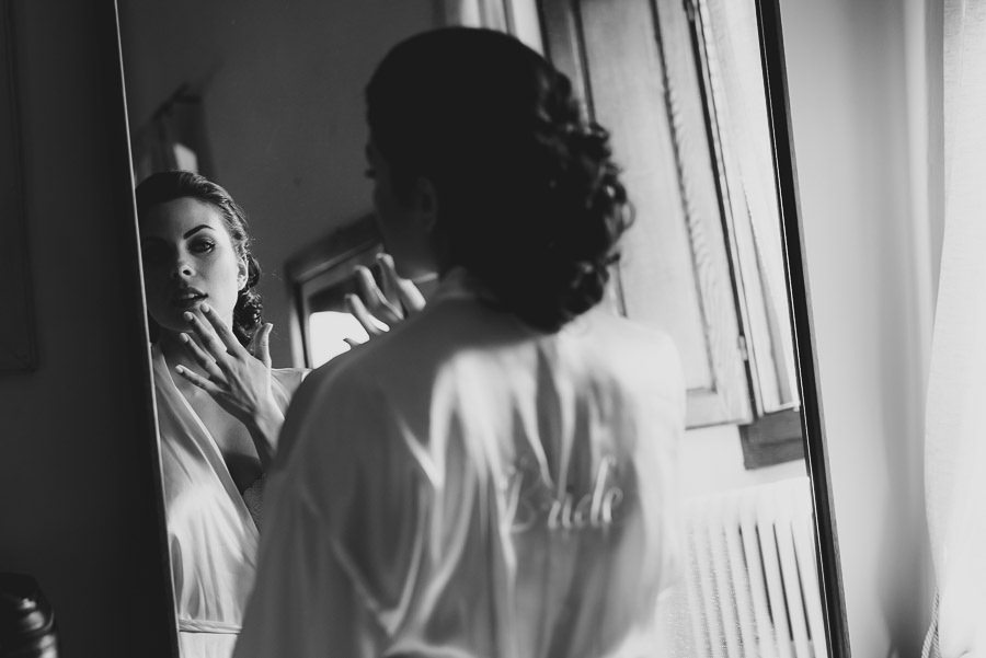 tuscany intimate wedding detail bride creative portrait