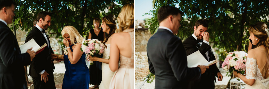 Villa wedding cortona outdoor ceremony