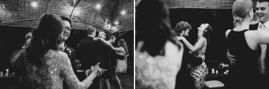 get married in Italy guest having fun dancing hard in Tuscany