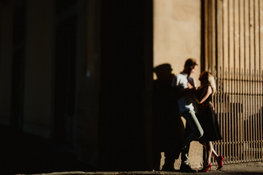 Sunrise Engagement in Florence