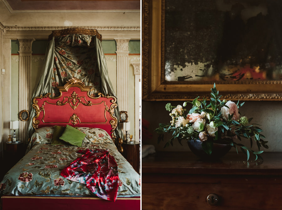 Borgo Sotmennano Wedding Photographer villa interior and decors
