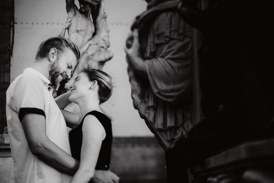 sunrise engagement photography in FLorence