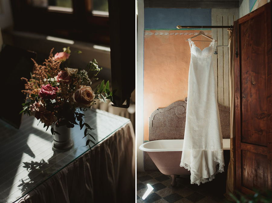 Borgo Sotmennano Wedding Photographer wedding dress