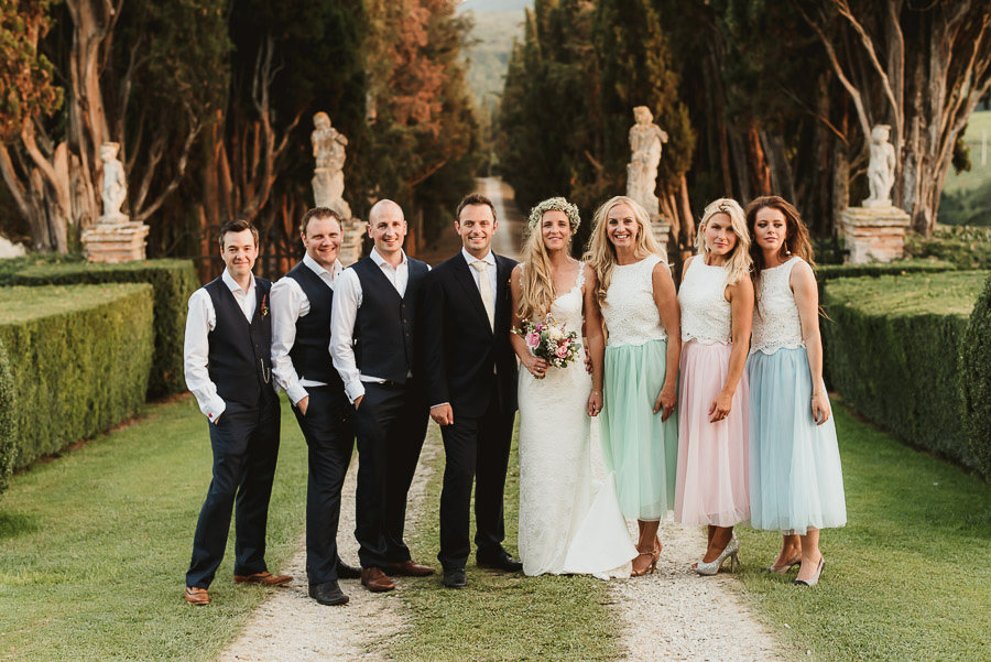 Borgo Sotmennano Wedding Photographer family formal group photos