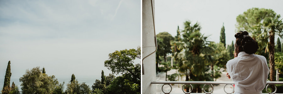 Sirmione Wedding photographer wedding vintage car