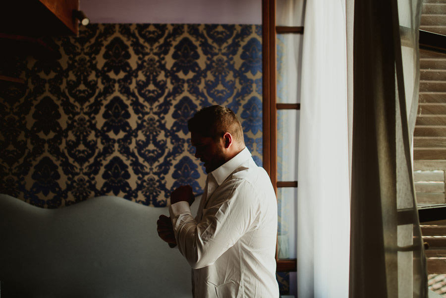 tuscan seaside wedding photographer bride groom getting ready fl