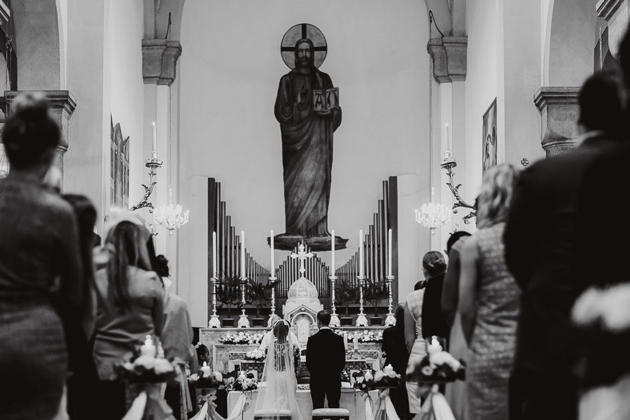 Sirmione Wedding photographer catholic wedding ceremony
