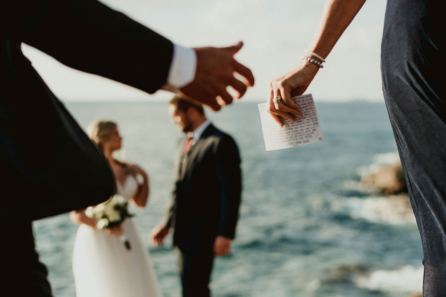 tuscan seaside wedding photographer calfuria wedding ceremony