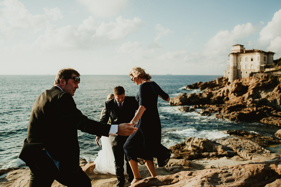 tuscan seaside wedding photographer Castello del Boccale wedding