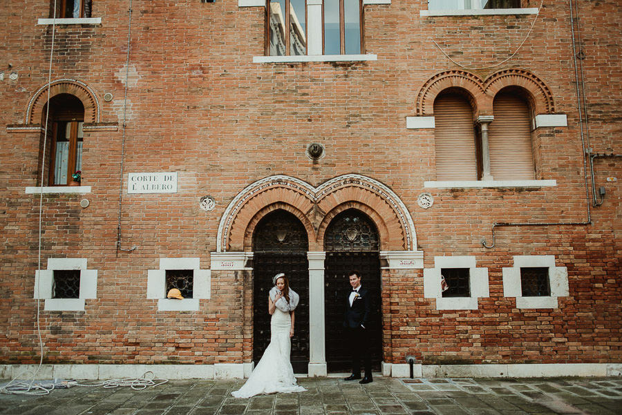Wedding Photographer Venice winter elopement