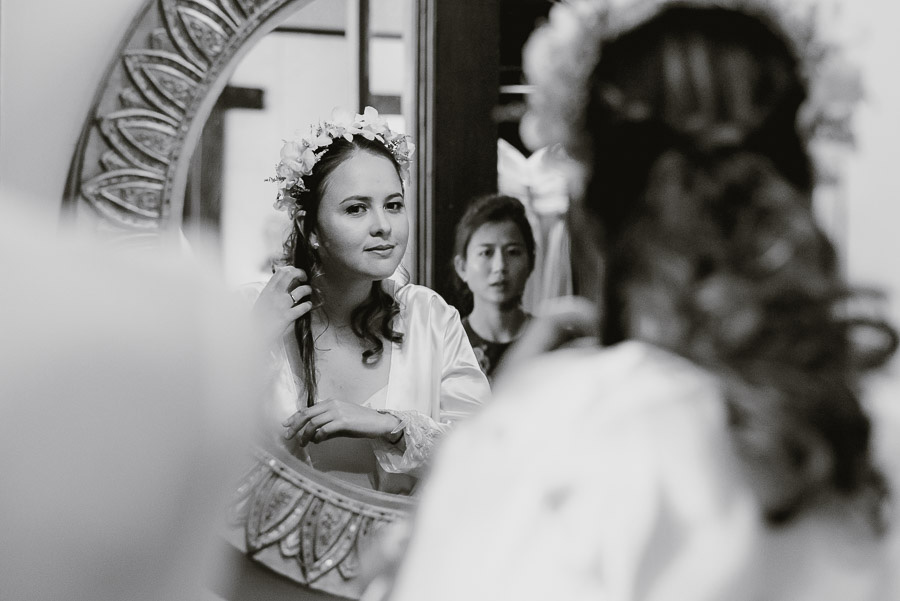 Myanmar wedding photographer Bagan Burma bride get ready