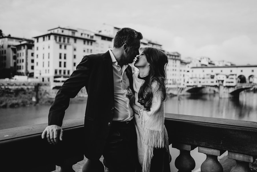 Couple modern portrait photography florence tuscany italy