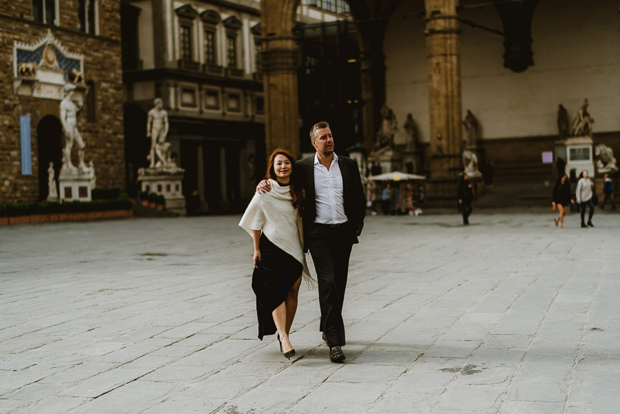 Couple fashion portrait photography florence tuscany italy