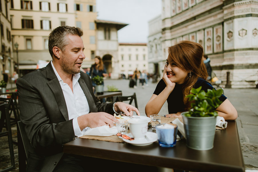 Couple lifestyle portrait photography florence tuscany italy