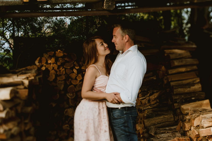 relaxed Couple portrait photography florence tuscan olive trees