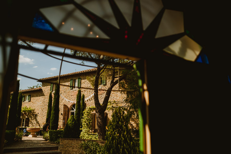Intimate wedding in Tuscan Villa