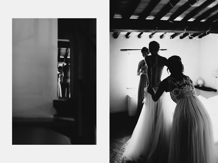 fairytale wedding italy umbria bride groom ready