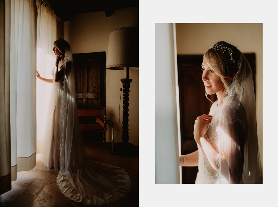 fairytale wedding italy umbria borgo della marmotta bride gettin
