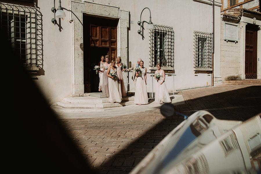fairytale wedding italy umbria borgo della marmotta civil ceremo