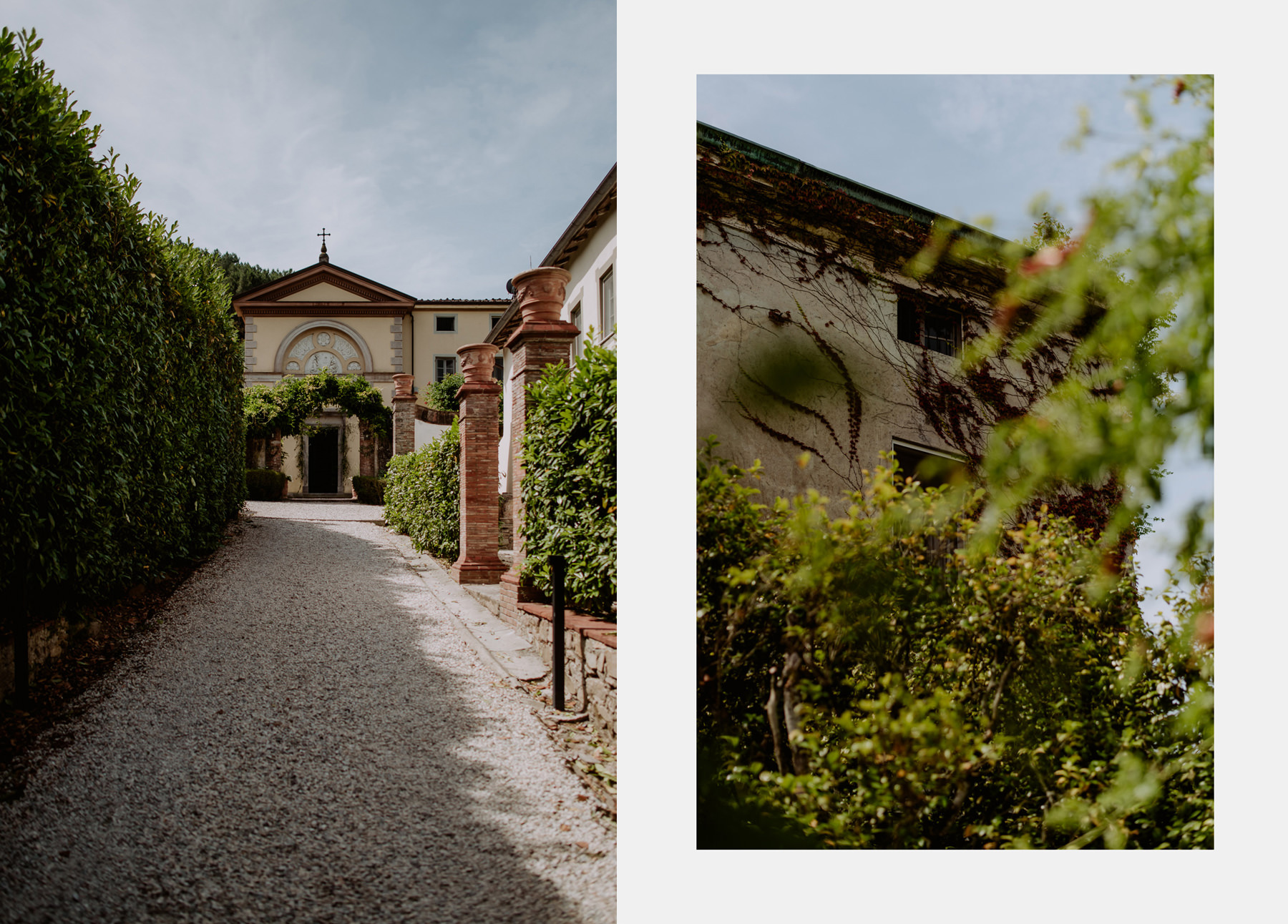 creative wedding photographer tuscany villa michaela
