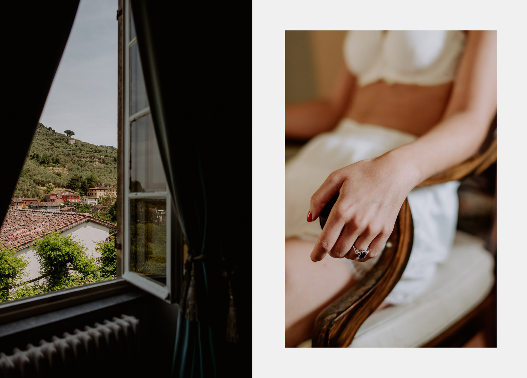 creative wedding photographer tuscany villa michaela decors