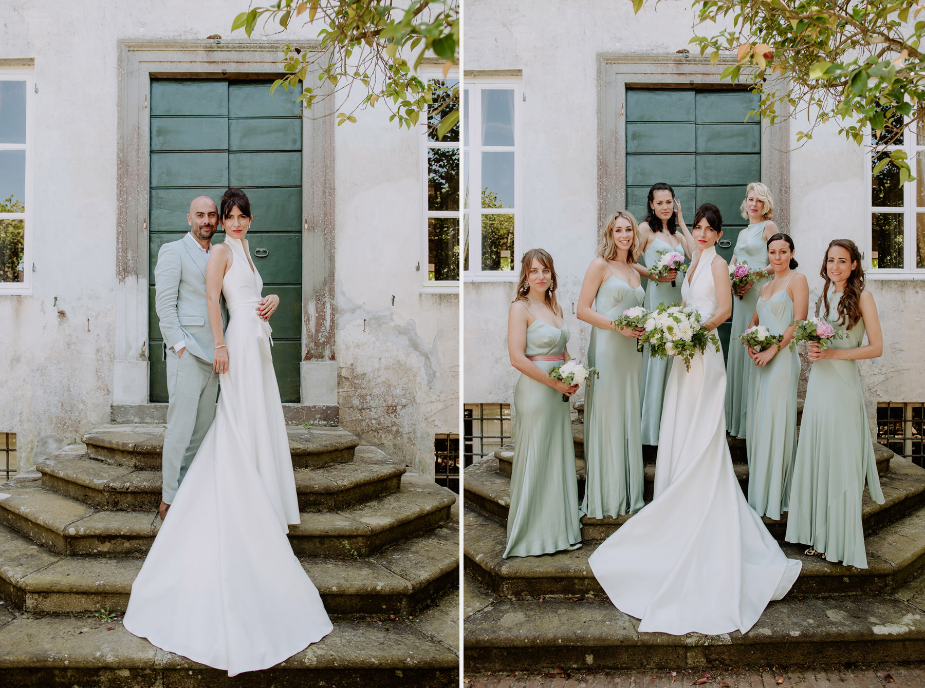 creative wedding photographer tuscany villa michaela garden part