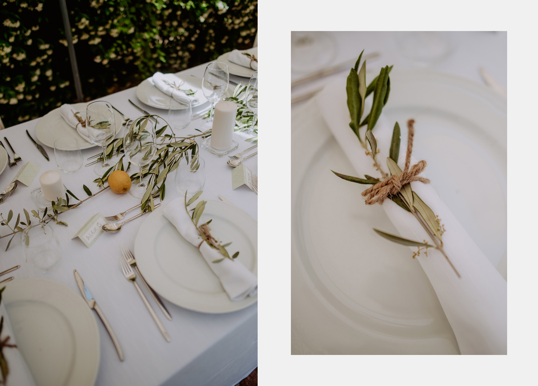 creative wedding photographer tuscany pool dinner