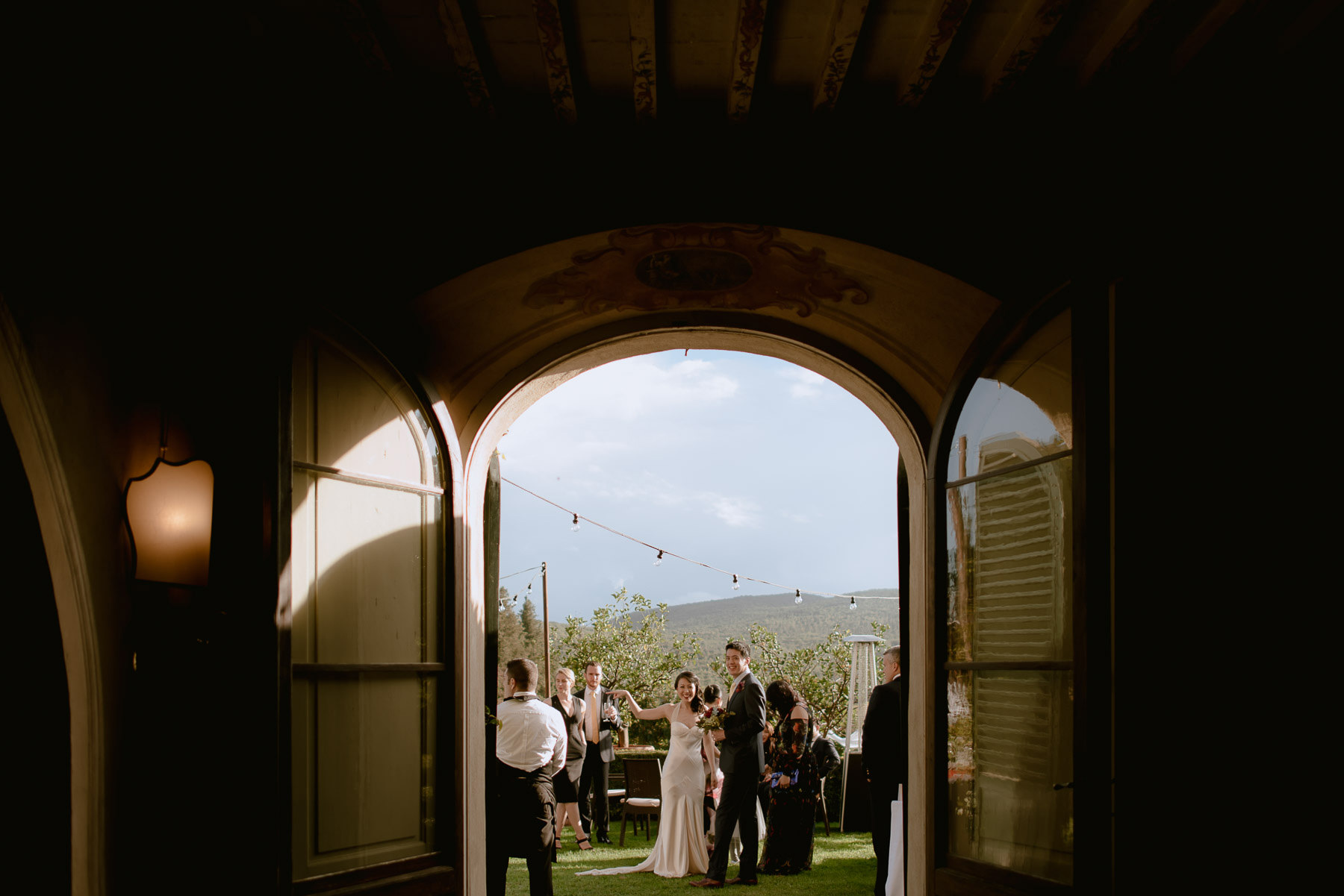 intimate wedding in Tuscany best bride portrait