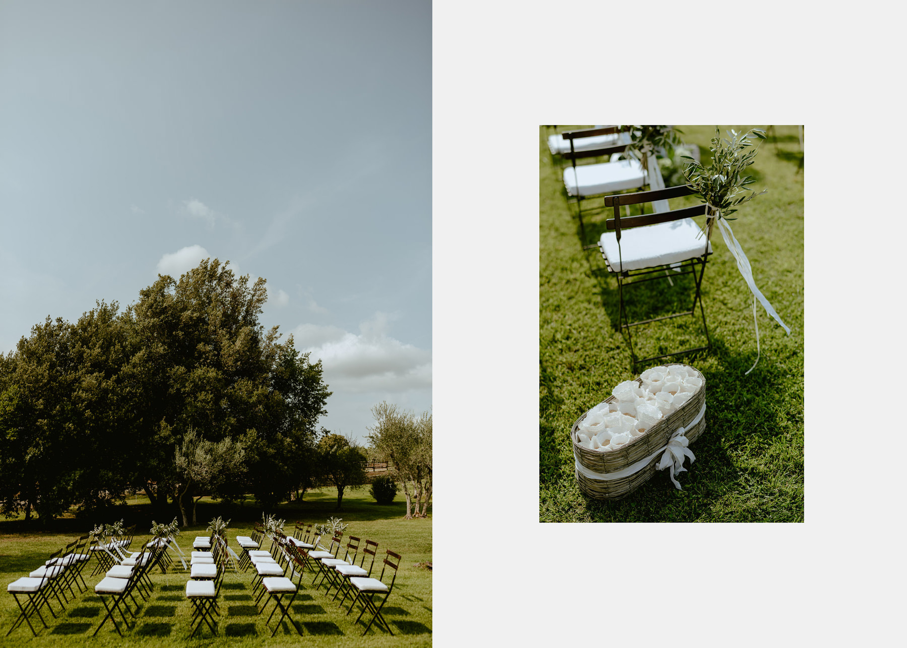 Siena wedding photographer borgo scopeto outdoor ceremony