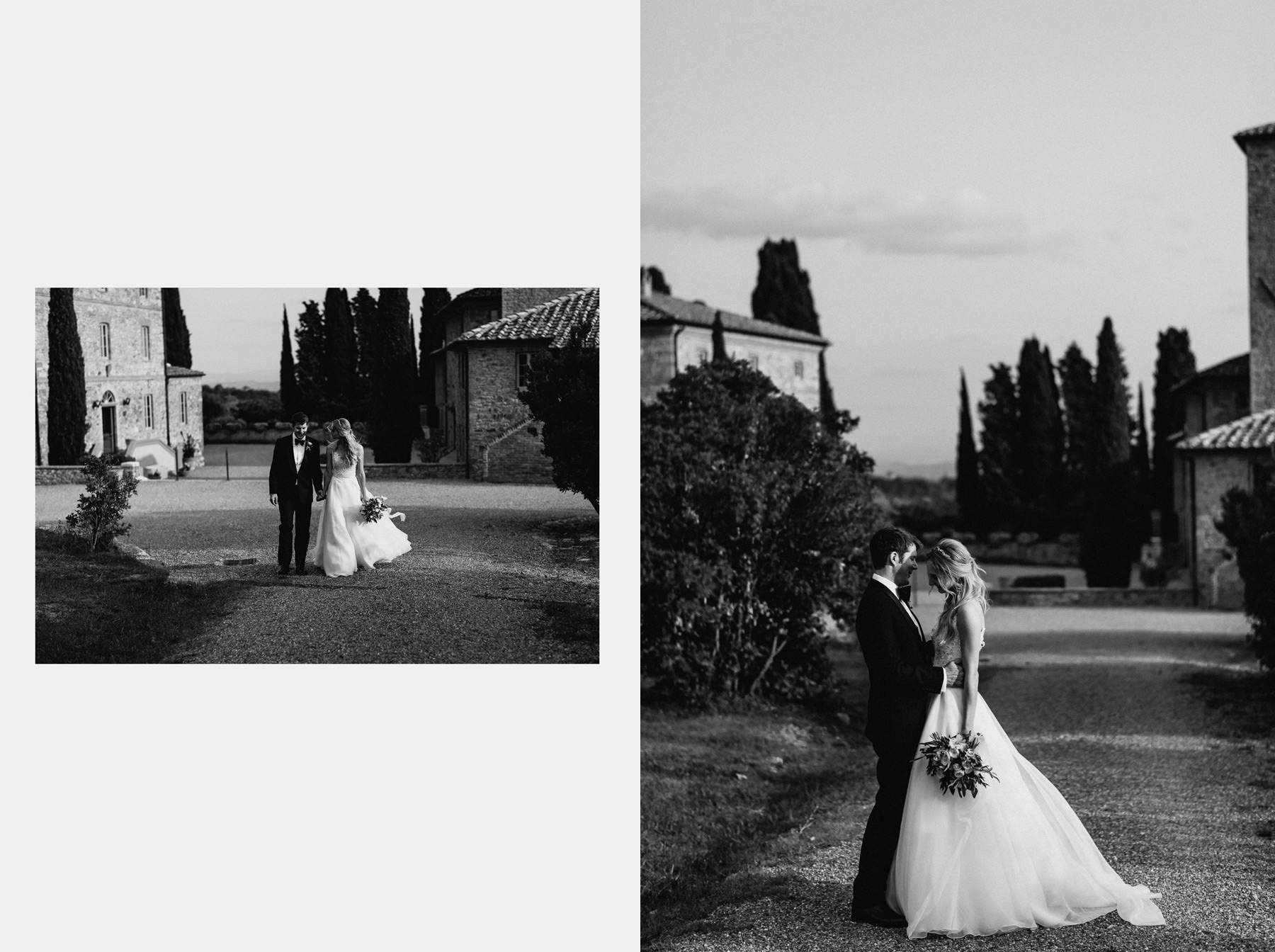 Siena wedding photographer borgo scopeto intimate bride groom lo