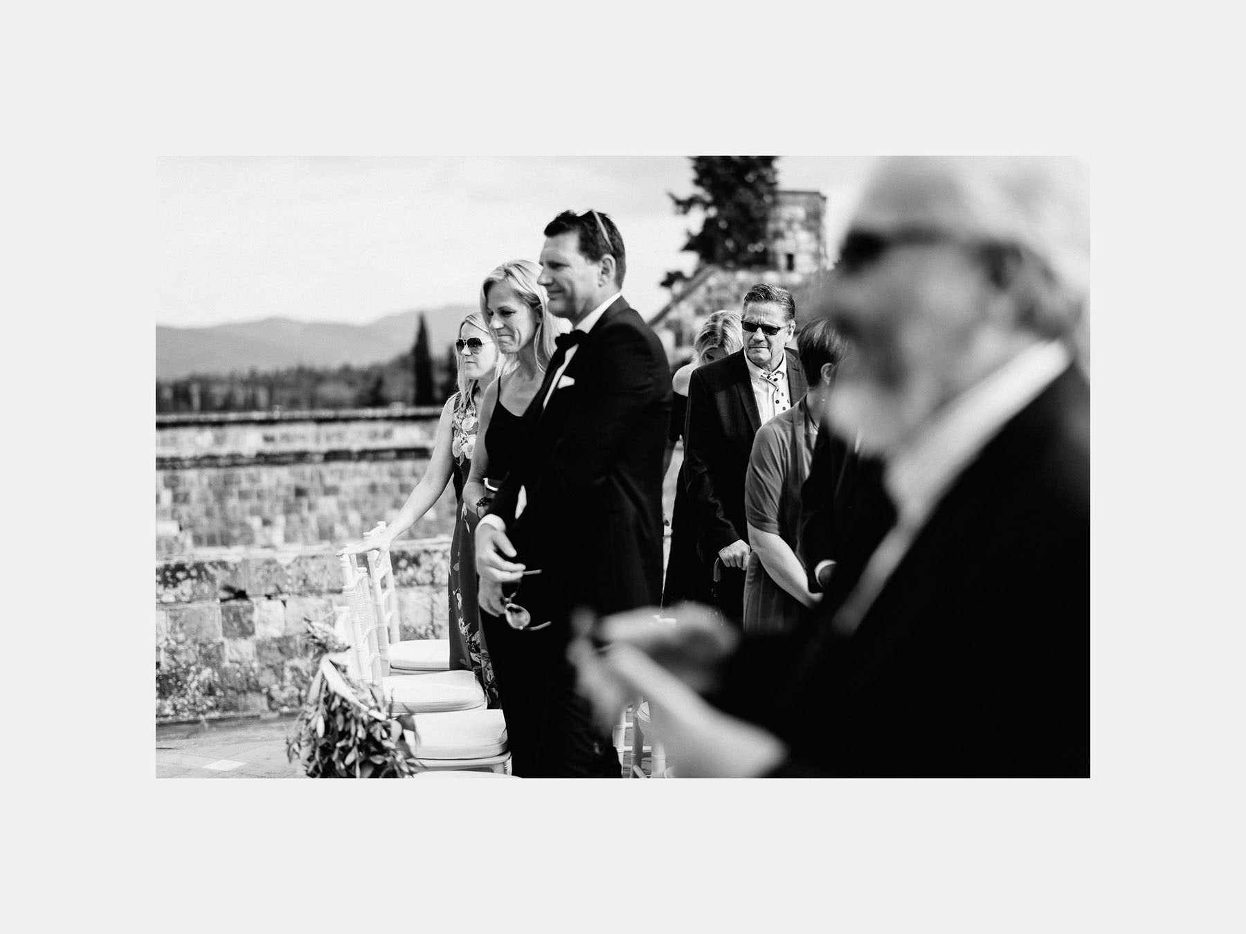Timeless wedding in Florence Tuscany castello vincigliata outdoo