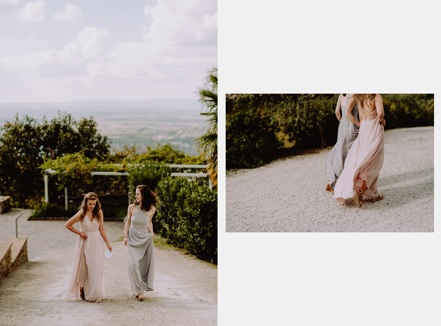 Umbria wedding photographer wedding dress gown accessories