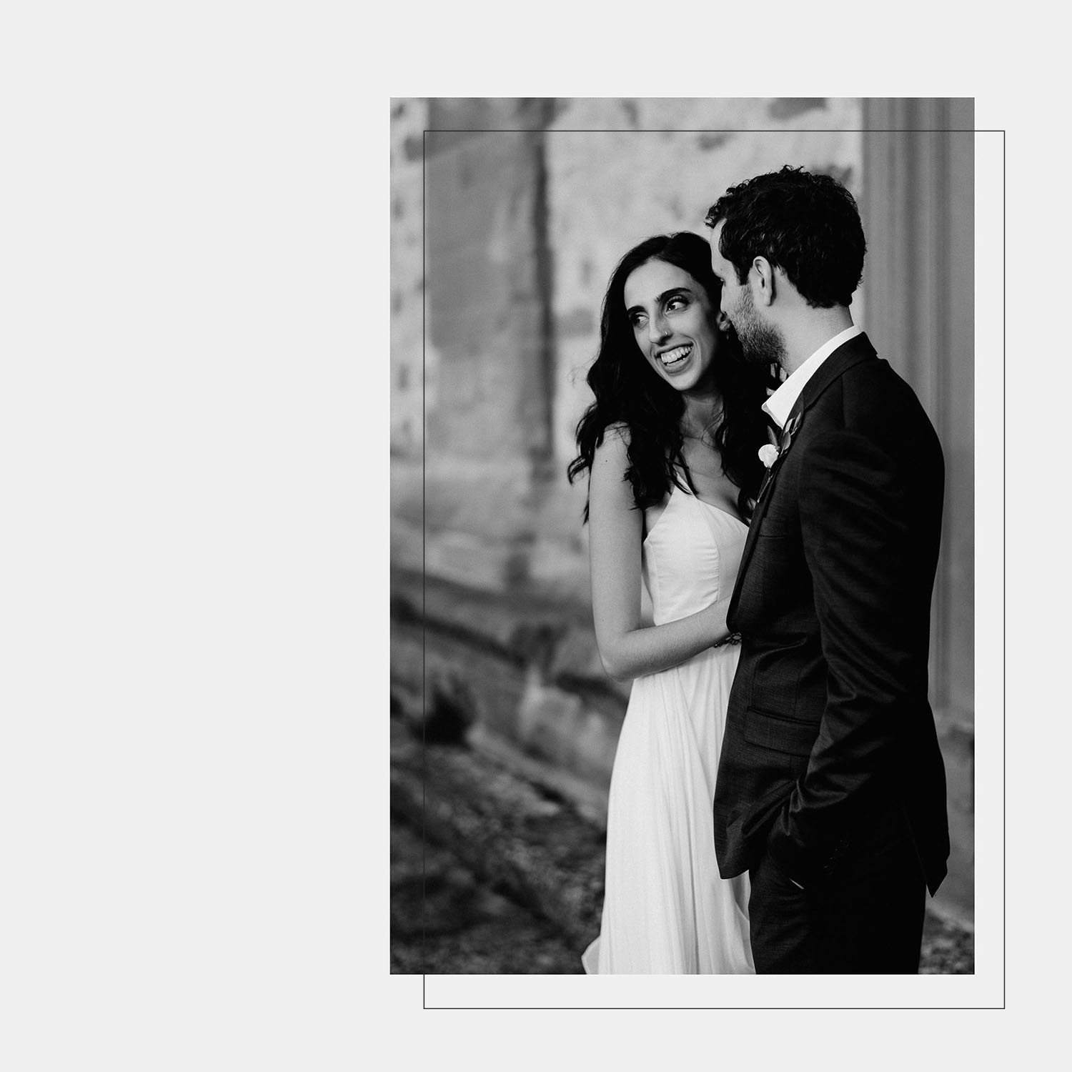 Unbria wedding photographer romantic candid couple photography