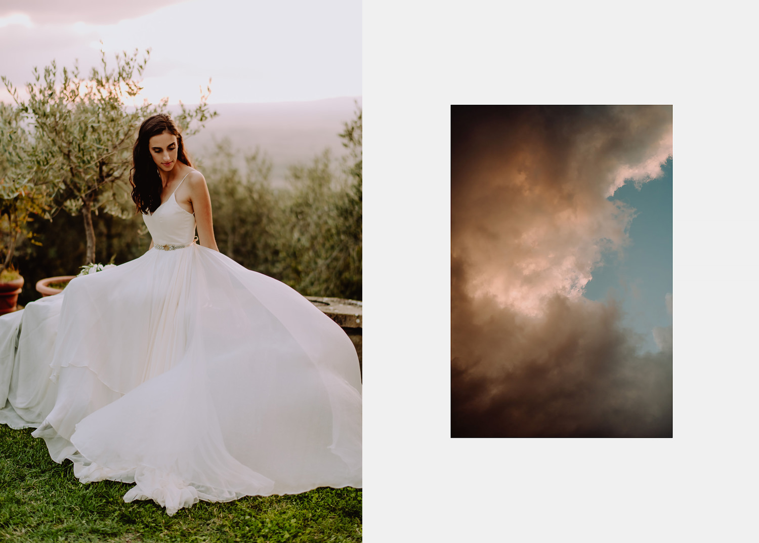 Unbria wedding photographer bride gown