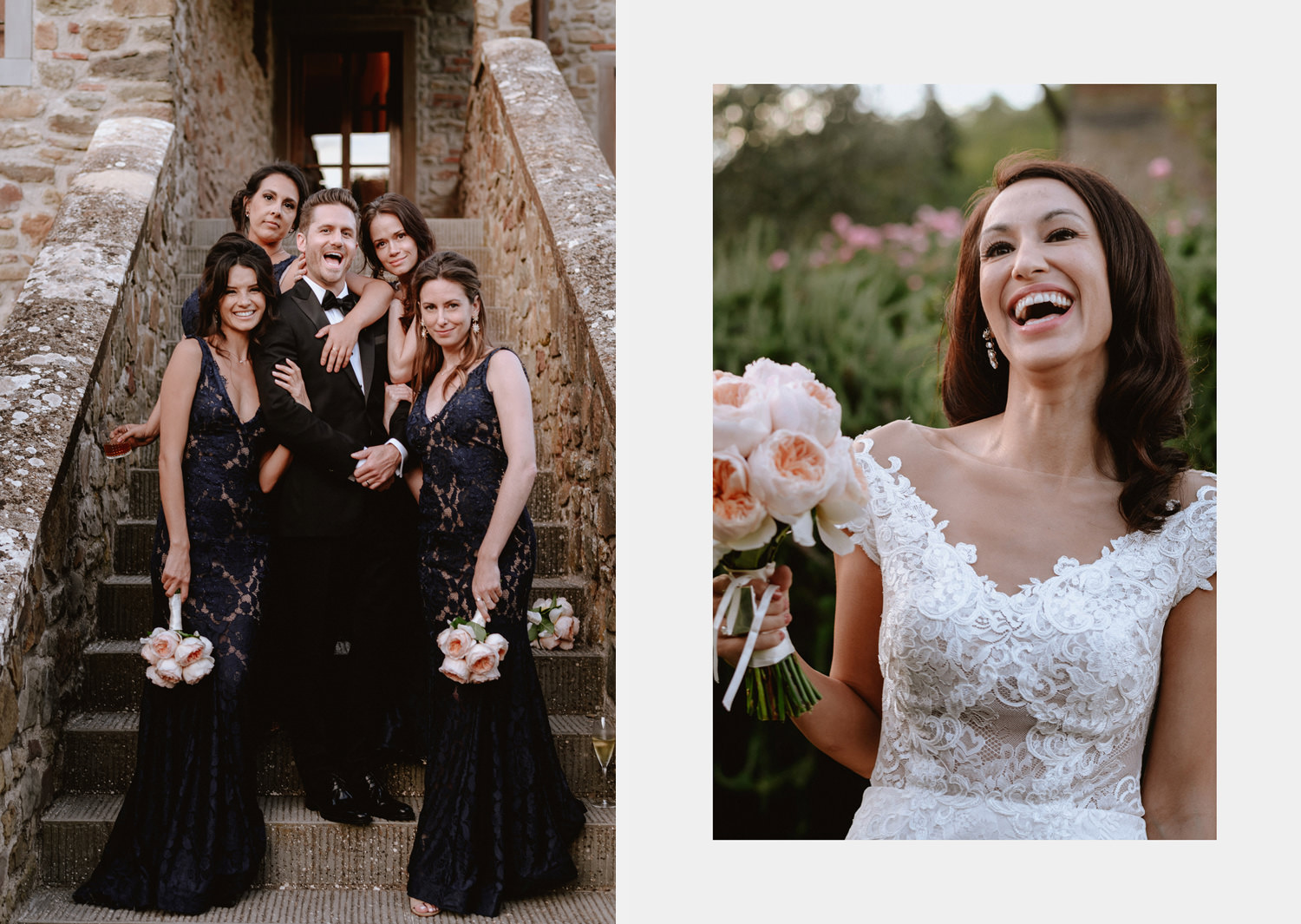 intimate wedding private villa tuscany photographer family formals portrait