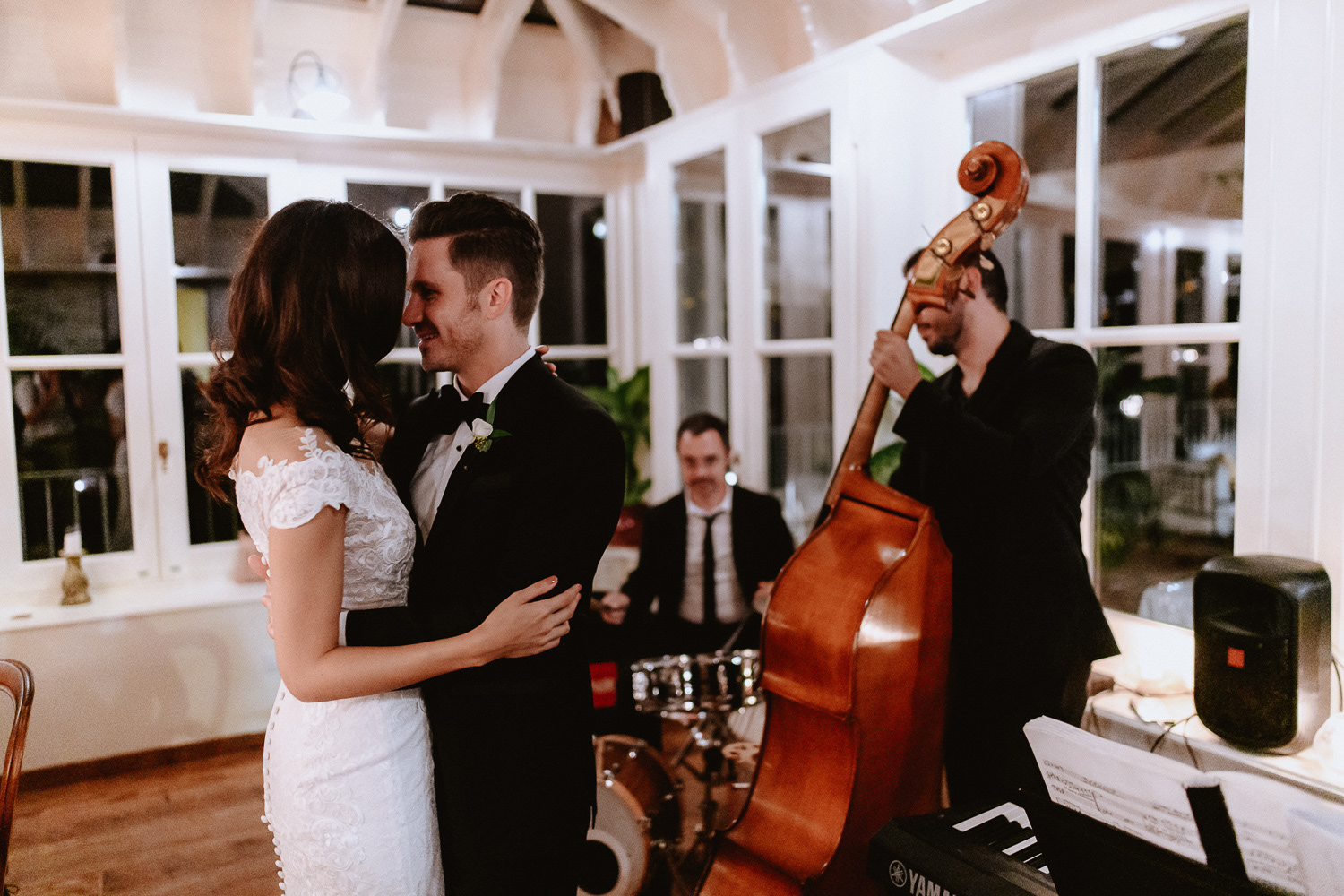 intimate wedding private villa tuscany photographer first dance