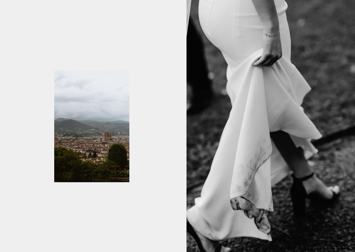 elopement photographer florence torre bellosguardo outdoor cloudy ceremony